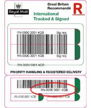 Royal Mail Tracking - EMS Tracking
