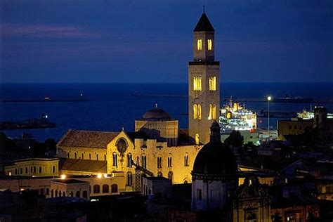 Bari, Italy is a coastal city with an interesting old town