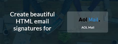 Email Signatures for AOL Mail