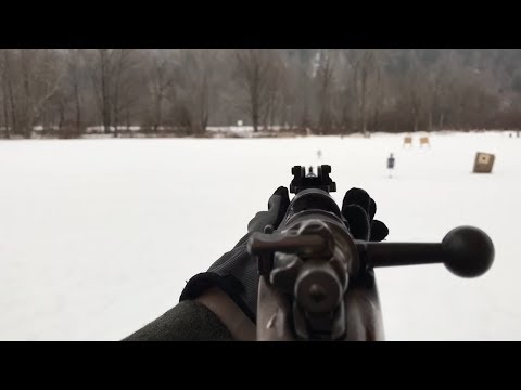 How To Install A Sling for A K-98 Mauser - YouTube
