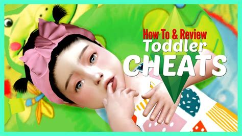 The Sims 4 — How to Use Toddler Skill Cheats (Tutorial