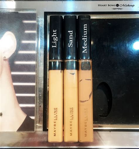 Maybelline Fit Me Concealer Swatches, Shades, Price & Buy