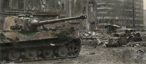 German Armored Forces & Vehicles - Tiger Tank in Berlin
