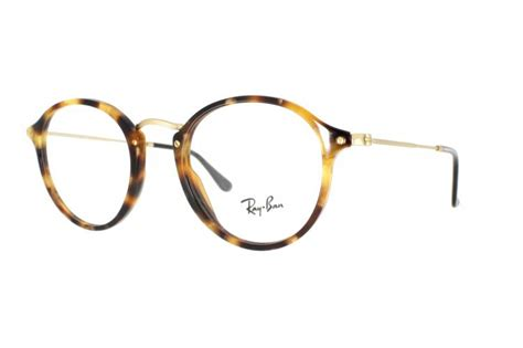 Ray Ban Brille RX 2447V 5494 in braun