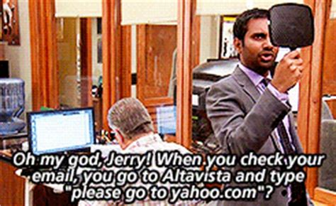 spoilers ** mygif parks and recreation tom haverford jerry