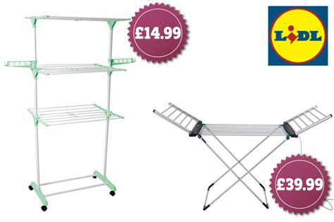 Lidl is selling a heated clothes airer for a bargain price