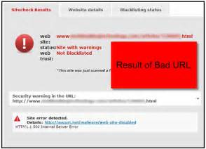 Responding to a Bing Malware Warning, Inside and Out