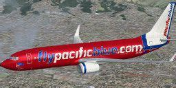 Pacific Blue Boeing 737-800 for FSX