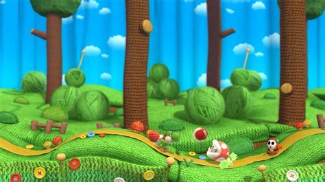 11 Yoshi's Woolly World HD Wallpapers   Backgrounds