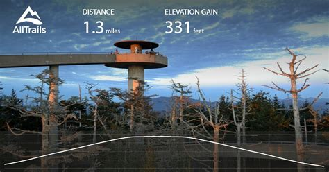 Clingmans Dome Observation Tower Trail - Tennessee