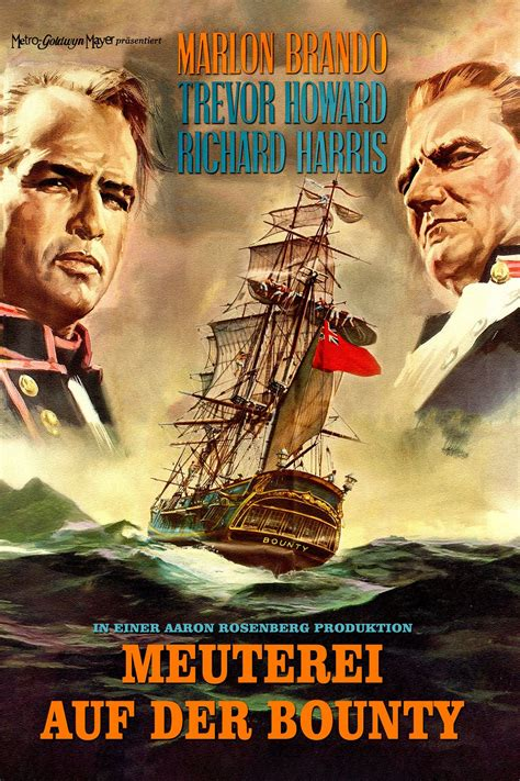 Mutiny on the Bounty (1962) - Posters — The Movie Database