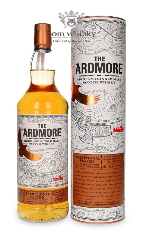 Ardmore Traditional Peated Quarter Cask Finish/ 40%/ 1,0l